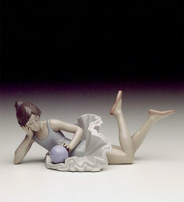 BALLET DANCER WITH BALL
